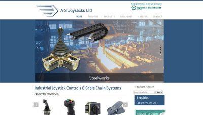 AS Joysticks Peterborough – online catalogue