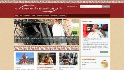 Door to the Himalayas – Ethical, Fairtrade Ecommerce