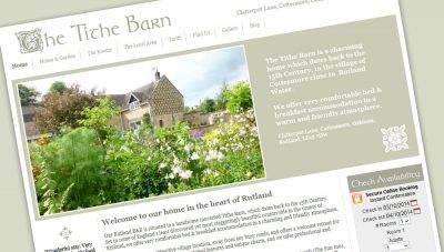 The Tithe Barn B&B – CMS Website Design, Rutland