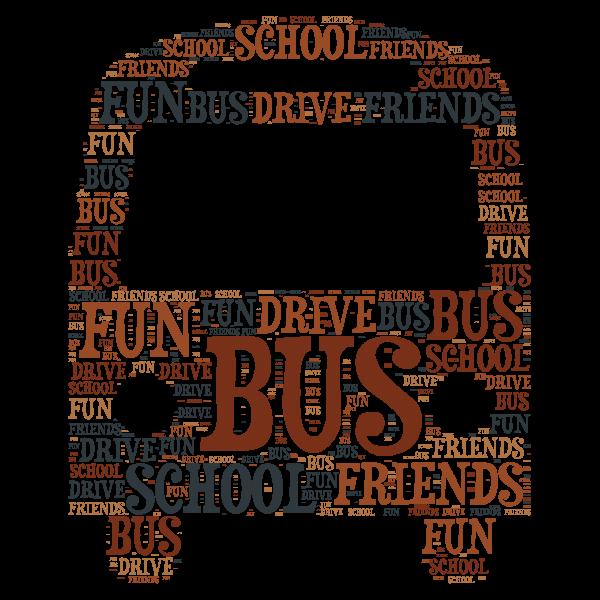 bus word cloud