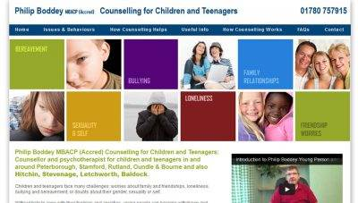 Counselling Website Design – Phillip Boddey