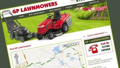 GP Lawnmowers – Stamford