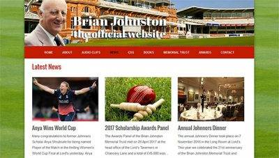 Brian Johnston (Johnners) – Official Website