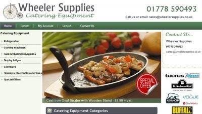 Stamford Ecommerce website design – Wheeler Supplies