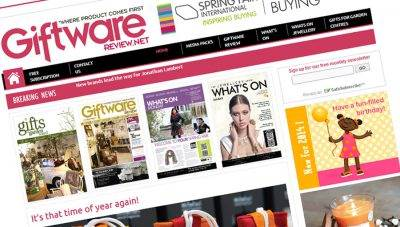 Giftware Review, Stamford – CMS Website