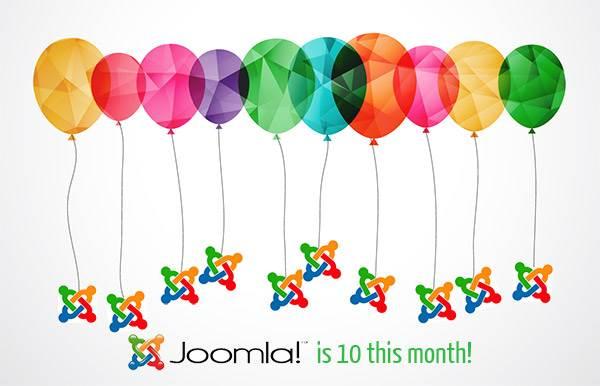 Joomla is 10!