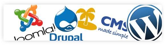 Joomla, WordPress, CMSMS,Drupal