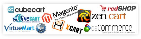 Ecommerce shopping cart systems