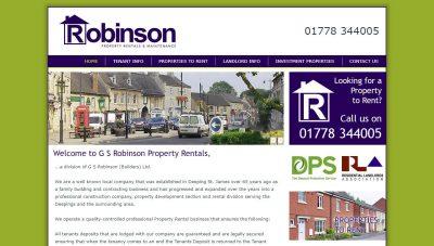 Robinson Property Rentals – CMS Website Market Deeping